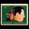 1973 8c George Gershwin-Composer Mint Single