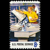 1973 8c Mail Cancelling Mint Single