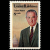 1973 8c Lyndon B. Johnson Mint Single