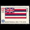 1976 13c Hawaii Mint Single