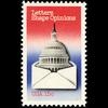 1980 15c Letters Shape Opinions Mint Single