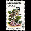 1982 20c Massachusettes Mint Single
