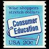 1982 20c Consumer Education Coil Mint Single
