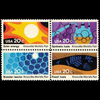1982 20c World's Fair Mint Block