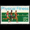 1983 20c Physical Fitness Mint Single