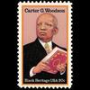1984 20c Carter G. Woodson Mint Single