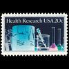 1984 20c Health Research Mint Single