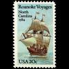 1984 20c Roanoke Voyages Mint Single