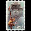 1984 20c Smokey Bear Mint Single