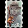 1984 20c Smokey Bear Mint Single