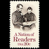 1984 20c Nation of Readers Mint Single