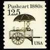 1985 12.5c Puchcart Mint Single