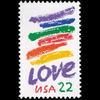 "1985 22c ""Love"" Mint Single"