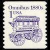 1986 1c Omnibus Mint Single