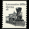 1986 2c Locomative Mint Single