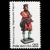 1986 22c Highlander Figure Mint Single
