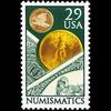 1991 29c Numismatics Mint Single