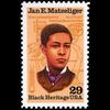 1991 29c Jan Matzeliger Mint Single