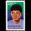 1992 29c Dorothy Parker Mint Single