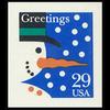 1993 29c Snowman Self Adhesive Mint Single