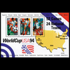 1994 $1.19 World Cup Soccer Souvenir Sheet