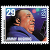 1994 29c Jimmy Rushing Mint Single