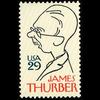 1994 29c James Thurber Mint Single