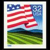 1995 32c Flag Over Field Mint Single