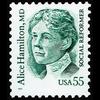 1995 55c Alice Hamilton Mint Single