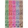 1940 Famous Americans Set, Mint
