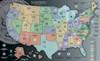 H.E. Harris State Series Quarters Gray Map Interior 2