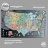 H.E. Harris State Series Quarters Gray Map Interior 1