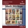 Black Heritage US Stamp Packet (15 ct)