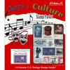 Arts & Culture Stamp Collection Packet (14 ct)
