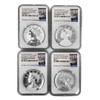 American Liberty 225th Anniversary Four-Medal Set, Graded (AL6021079-201)
