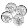 American Liberty 225th Anniversary Four-Medal Set, Graded (AL6021079-204) 99.9% Silver