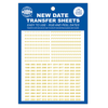 New Gold Transfer Sheets for Whitman Albums