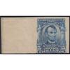 1908 5c Lincoln Imperf, Mint Never Hinged, Left Margin Single