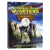 National Park Quarters 4 Panel Cushioned Folder