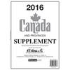 2016 Canada Stamp Supplement