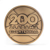 Alabama Bicentennial Alabama History Commemorative Coin - Bronze  reverse