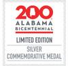 Alabama Bicentennial Alabama History Commemorative Coin Silver COA 1