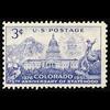 1951 3c Colorado Statehood Mint Single