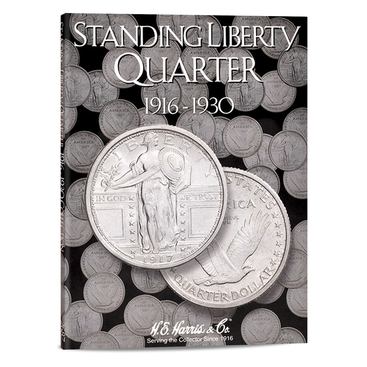 Liberty standing quarters 1916 to 1930 folder