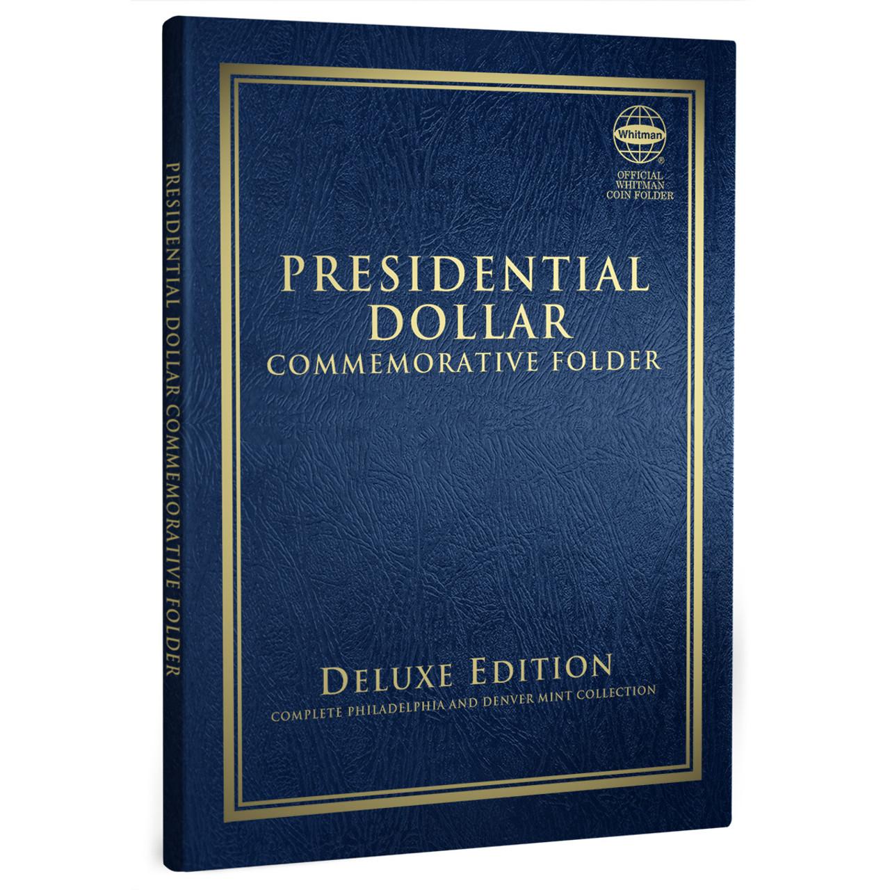 Whitman Presidential Dollars Folder// 2007-2015
