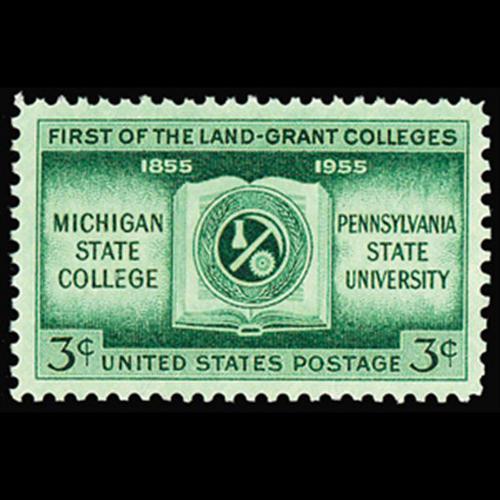 1955 3c Land Grant Colleges Mint Single