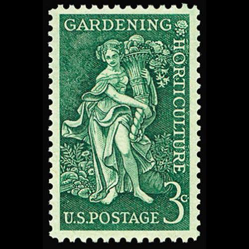 1958 3c Gardening & Horticulture Mint Single