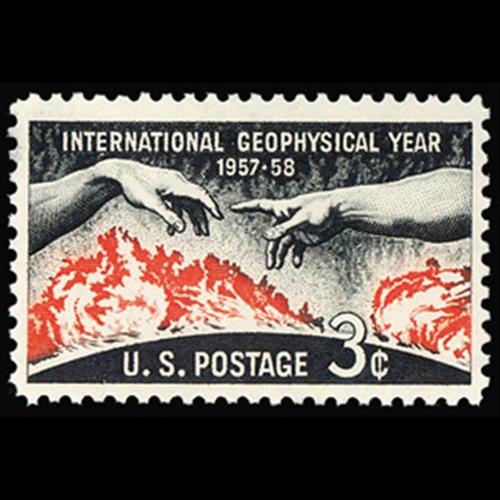 1958 3c Int'l. Geophysical Year Mint Single