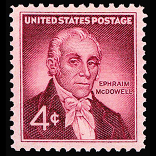 1959 4c Dr. Ephraim McDowell Mint Single