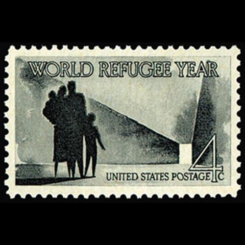 1960 4c World Refugee Year Mint Single